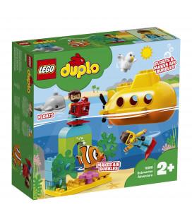 LEGO® DUPLO® Town 10910 Submarine Adventure, Age 2+, Building Blocks (24pcs)