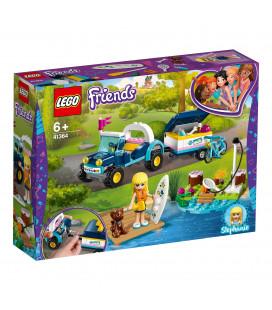 LEGO® Friends 41364 Stephanie's Buggy & Trailer, Age 6+, Building Blocks (166pcs)