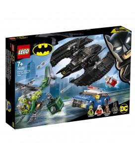 LEGO® Super Heroes 76120 Batman™ Batwing and The Riddler™ Heist, Age 7+, Building Blocks (489pcs)