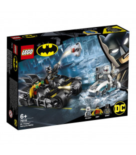 LEGO® Super Heroes 76118 Mr. Freeze™ Batcycle™ Battle, Age 6+, Building Blocks (200pcs)