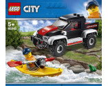 LEGO® City 60240 Kayak Adventure, Age 5+, Building Blocks (84pcs)
