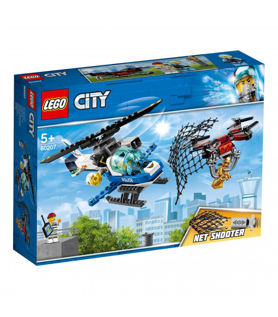 LEGO® City 60207 Sky Police Drone Chase, Age 5+, Building Blocks (192pcs)