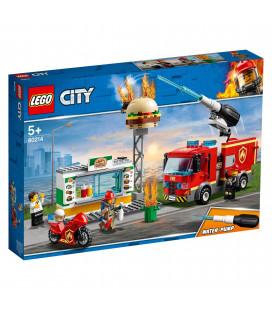 LEGO® City 60214 Burger Bar Fire Rescue, Age 5+, Building Blocks (327pcs)