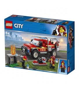 LEGO® City Town 60231 Fire Chief Response Truck, Age 5+, Building Blocks (201pcs)