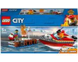 LEGO® City 60213 Dock Side Fire, Age 5+, Building Blocks (97pcs)