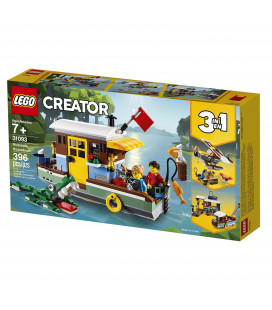 LEGO® Creator 31093 Riverside Houseboat, Age 7+, Building Blocks (396pcs)