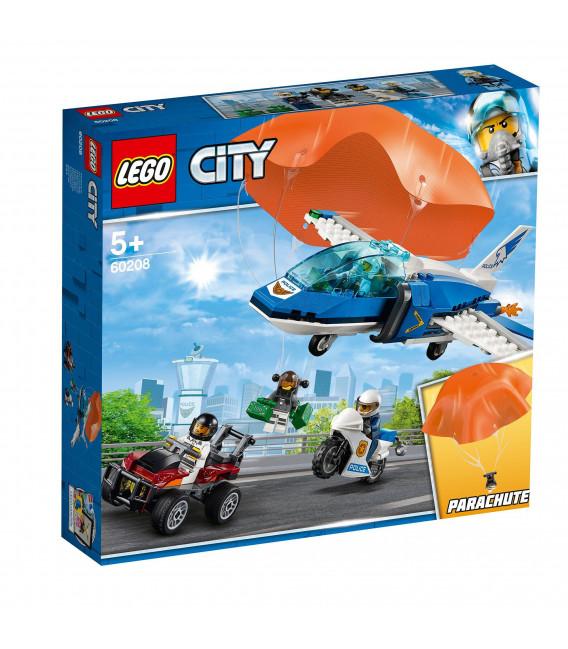 LEGO® City 60208 Sky Police Parachute Arrest, Age 5+, Building Blocks (218pcs)