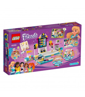 LEGO® Friends 41372 Stephanie's Gymnastics Show, Age 6+, Building Blocks (241pcs)