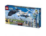 LEGO® City 60210 Sky Police Air Base, Age 6+, Building Blocks (529pcs)