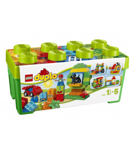 LEGO® DUPLO® 10572 All-in-One-Box-of-Fun, Age 1½-5, Building Blocks (65pcs)