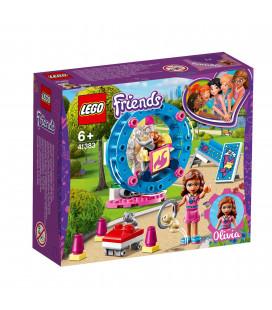 LEGO® Friends 41383 Olivia's Hamster Playground, Age 6+, Building Blocks (81pcs)