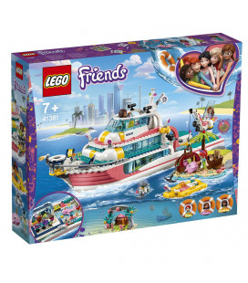 LEGO® Friends 41381 Rescue Mission Boat, Age 7+, Building Blocks (908pcs)