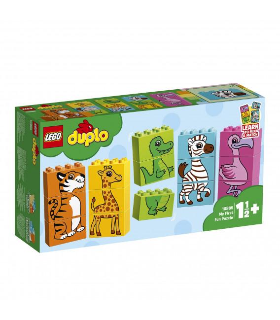LEGO® DUPLO® 10885 My First Fun Puzzle, Age 1½+, Building Blocks (15pcs)