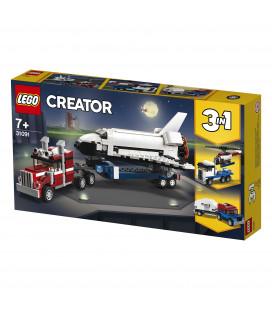 LEGO® Creator 31091 Shuttle Transporter, Age 7+, Building Blocks (341pcs)