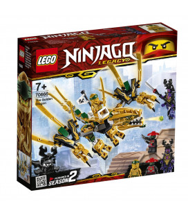 LEGO® Ninjago® 70666 The Golden Dragon, Age 7+, Building Blocks (171pcs)