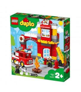 LEGO® DUPLO® Town 10903 Fire Station, Age 2+, Building Blocks (76pcs)
