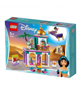 LEGO® Disney Princess 41161 Aladdin and Jasmine's Palace Adventures, Age 5+, Building Blocks (193pcs)
