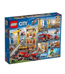 LEGO® City 60216 Downtown Fire Brigade, Age 6+, Building Blocks (943pcs)