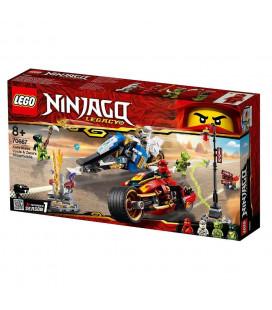 LEGO® Ninjago® 70667 Kai's Blade Cycle & Zane's Snowmobile, Age 8+, Building Blocks, (362pcs)