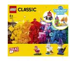 LEGO® Classic 11013 Creative Transparent Bricks, Age 4+, Building Blocks, 2021 (500pcs)
