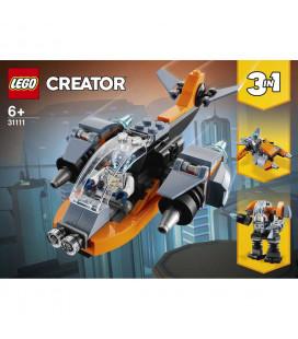 LEGO® Creator 31111 Cyber Drone, Age 6+, Building Blocks, 2021 (113pcs)