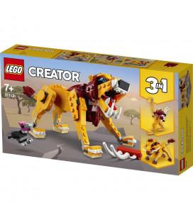 LEGO® Creator 31112 Wild Lion, Age 7+, Building Blocks, 2021 (224pcs)