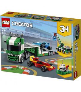 LEGO® Creator 31113 Race Car Transporter, Age 7+, Building Blocks, 2021 (328pcs)