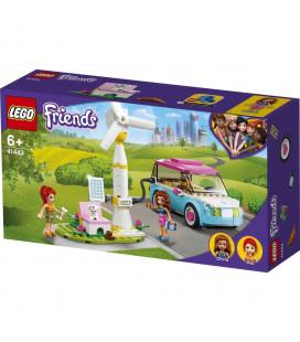LEGO® Friends 41443 Olivia's Electric Car, Age 6+, Building Blocks, 2021 (183pcs)