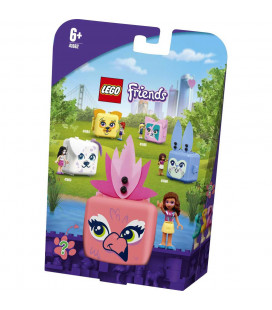 LEGO® Friends 41662 Olivia's Flamingo Cube, Age 6+, Building Blocks, 2021 (41pcs)
