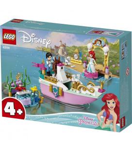 LEGO® Disney Princess 43191 Ariel's Celebration Boat, Age 4+, Building Blocks, 2021 (114pcs)
