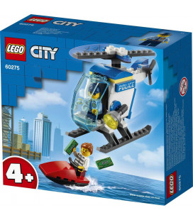 LEGO® City 60275 Police Helicopter, Age 4+, Building Blocks, 2021 (51pcs)