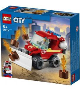 LEGO® City 60279 Fire Hazard Truck, Age 5+, Building Blocks, 2021 (87pcs)