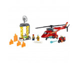 LEGO® City 60281 Fire Rescue Helicopter, Age 5+, Building Blocks, 2021 (212pcs)