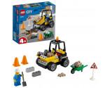 LEGO® City 60284 Roadwork Truck, Age 4+, Building Blocks, 2021 (58pcs)