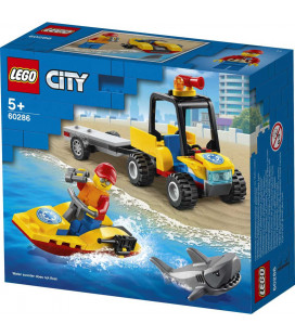 LEGO® City 60286 Beach Rescue ATV, Age 5+, Building Blocks, 2021 (79pcs)
