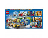 LEGO® City 60306 Shopping Street, Age 6+, Building Blocks, 2021 (533pcs)