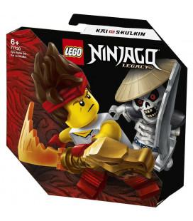LEGO® Ninjago® 71730 Epic Battle Set - Kai vs. Skulkin, Age 6+, Building Blocks, 2021 (61pcs)