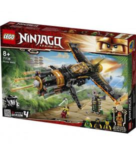 LEGO® Ninjago® 71736 Boulder Blaster, Age 8+, Building Blocks, 2021 (449pcs)