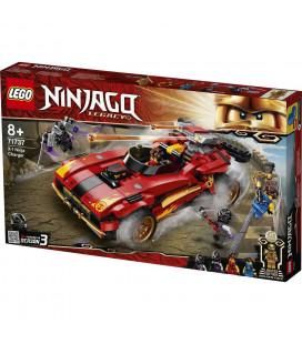 LEGO® Ninjago® 71737 X-1 Ninja Charger, Age 8+, Building Blocks, 2021 (599pcs)