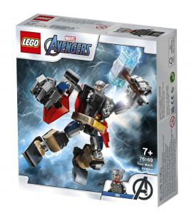 LEGO® Super Heroes 76169 Thor Mech Armour, Age 7+, Building Blocks, 2021 (139pcs)