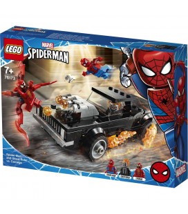 LEGO® Super Heroes 76173 Spider-man and Ghost Rider Vs. Carnage, Age 7+, Building Blocks, 2021 (212pcs)