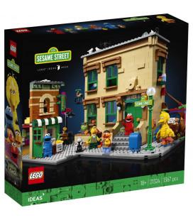 LEGO® D2C 21324 Ideas 123 Sesame Street, Age 18+, Building Blocks, 2020 (1367pcs)