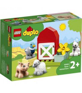 LEGO® Duplo 10949 Farm Animal Care, Age 2+, Building Blocks, 2021 (11pcs)