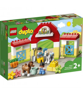 LEGO® Duplo 10951 Horse Stable and Pony Care, Age 2+, Building Blocks, 2021 (65pcs)