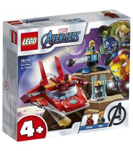 LEGO® Super Heroes 76170 Iron Man vs. Thanos, Age 4+, Building Blocks, 2021 (103pcs)
