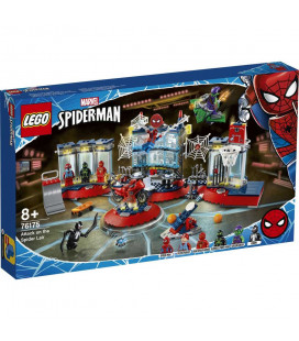 LEGO® Super Heroes 76175 Attack on the Spider Lair, Age 8+, Building Blocks, 2021 (466pcs)