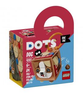LEGO® Dots 41927 Bag Tag Dog, Age 6+, Building Blocks, 2021 (84pcs)