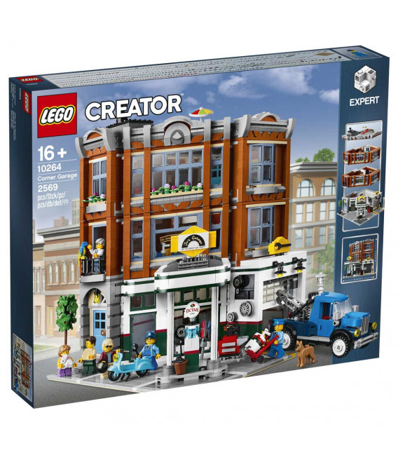 LEGO® D2C 10264 Creator Expert Corner Garage, Age 16+, Building Blocks, (2569pcs)