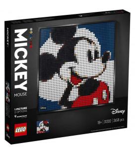 LEGO® Art 31202 Disney's Mickey Mouse, Age 18+, Building Blocks, 2021 (2658pcs)