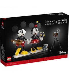 LEGO® D2C 43179 Disney Mickey and Minnie Buidable Character, Age 19+, Building Blocks, 2020 (1739pcs)